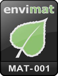 Logo materiálu černé